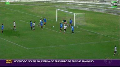 Belas do Belo goleiam na estreia da Série A2 do Campeonato Brasileiro Feminino - Botafogo-PB começou com o pé direito a competição nacional