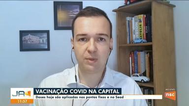 Anderson Silva fala sobre vacinação contra Covid em Florianópolis - Anderson Silva fala sobre vacinação contra Covid em Florianópolis