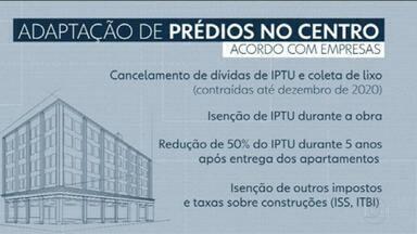 Prefeitura do Rio manda para a Câmara projeto que incentiva ocupação residencial de imóveis do Centro - Prefeitura do Rio manda para a Câmara projeto que incentiva ocupação residencial de imóveis do Centro