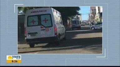 Pacientes são transferidos de Patos após acidente com caminhão que transportava oxigênio - Oxigênio para pessoas com Covid-19 estava acabando, e pacientes tiveram que ser levados para Campina Grande.