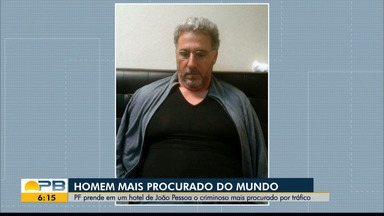 Traficante procurado pela Interpol é preso em João Pessoa - Rocco Morabito comandava tráfico entre Brasil e Europa e estava foragido desde 2019.