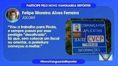 Motoristas reclamam de cobrança no pedágio em Pinda - Confira