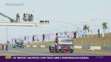Primeira etapa da Copa Truck é disputada em Goiânia - Primeira etapa da Copa Truck é disputada em Goiânia