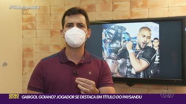 """""""Gabigol"""" goiano decide título no Campeonato Paraense - """"Gabigol"""" goiano decide título no Campeonato Paraense"""