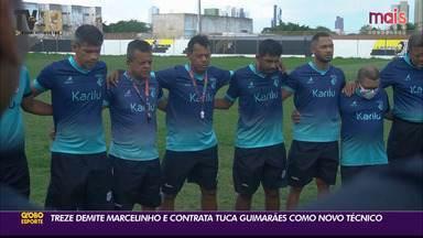 Treze demite Marcelinho Paraíba e contrata Tuca Guimarães - Novo técnico do Galo já inicia o trabalho nesta terça-feira