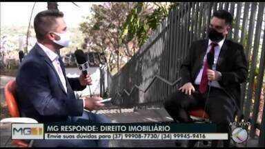 MG Responde: advogado em Divinópolis que é especialista em direito imobiliário tira dúvida - Veja qual é a forma mais segura de fazer um contrato e entenda mais sobre o assunto.