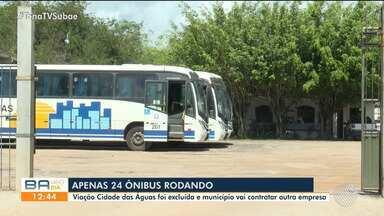 Alagoinhas enfrenta crise no transporte público após fim de contrato com empresa de ônibus - Prefeitura encerrou contrato com uma das empresas na cidade; Veja detalhes.