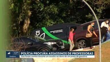 Professoras assassinadas na zona leste da capital foram enterradas em Ferraz de Vasconcelos - Os bandidos foram assaltar o dono de um posto de gasolina e atiraram no carro das educadoras por engano, segundo a polícia