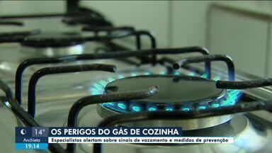 Especialistas alertam sobre sinais de vazamento de gás - Especialistas alertam sobre sinais de vazamento de gás