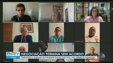 Reunião de rodoviários e empresários termina sem acordo sobre público em Salvador - Encontro aconteceu na tarde desta terça-feira (25).