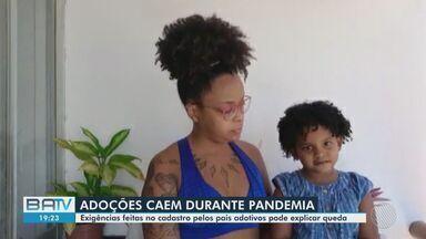 Número de adoções cai durante a pandemia de coronavírus na Bahia; Especialistas comentam - Dia nacional da adoção é celebrado nesta terça-feira (25).
