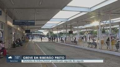Após greve, Justiça determina retorno gradual dos ônibus em Ribeirão Preto, SP - Em horários normais, ao menos 35% dos motoristas devem rodar com a frota. No horário de pico, quantidade sobe para 50%.