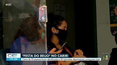 Jovem beijada por pelo menos 13 pessoas em festa se retrata - Confira mais notícias em g1.globo.com/ce