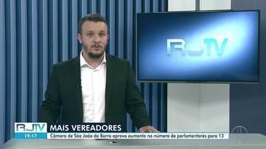 Câmara de São João da Barra, RJ, aprova aumento no número de parlamentares - Aumento é de nove para 13 vereadores. A emenda à lei orgânica foi aprovada por oito votos a um.