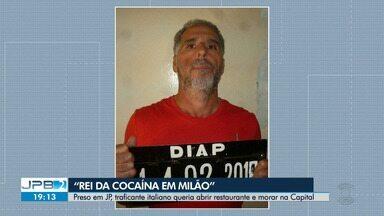 Traficante italiano é preso em João Pessoa - Ele queria abrir um restaurante na Capital.