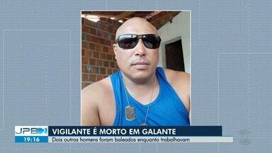 Vigilante é morto no Distrito de Galante - Dois outros homens foram baleados enquanto trabalhavam.
