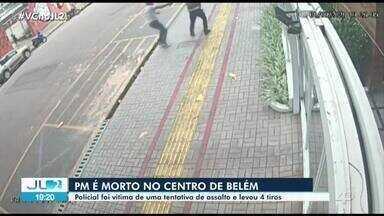 Cabo da PM é morto a tiros em bairro nobre de Belém - Cabo da PM é morto a tiros em bairro nobre de Belém