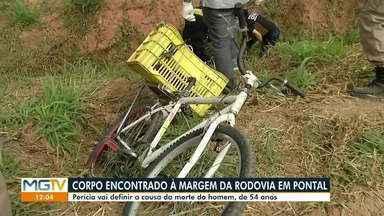 Corpo de homem é encontrado na BR-259, em Governador Valadares - Motociclista viu corpo caído em vala e acionou a Polícia Militar.
