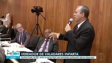 Vereador Paulinho Costa (PDT) sente infarto - Parlamentar começou a passar mal durante uma caminhada.