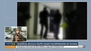 Quadrilha aplicava golpes usando incorporadora de fachada - O prejuízo é de mais de R$2 milhões, segundo a Polícia Civil.