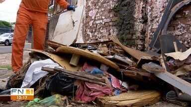 Descarte irregular de lixo é problema enfrentado em Presidente Prudente - Situação é causada, na maioria das vezes, pelos próprios moradores.