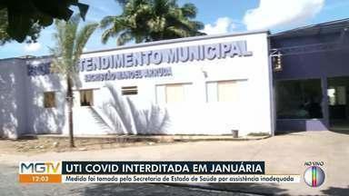 UTI Covid do Hospital Municipal de Januária é interditada - Secretaria de Estado de Saúde informou que a medida foi tomada 'em razão da não assistência nefrológica adequada aos pacientes com Covid-19 que necessitam de hemodiálise'.