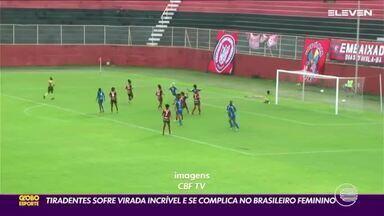 Tiradentes sofre virada histórica e sofre derrota na Série A2 do Brasileiro feminino - Tiradentes sofre virada histórica e sofre derrota na Série A2 do Brasileiro feminino
