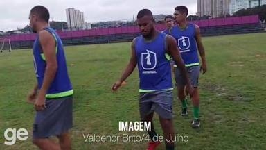 4 de Julho treina no CT do Oeste para jogo contra o São Paulo pela Copa do Brasil - 4 de Julho treina no CT do Oeste para jogo contra o São Paulo pela Copa do Brasil