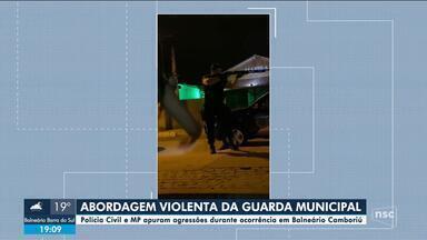 Polícia Civil e MP apuram agressões apos abordagem de guardas em Balneário Camboriú - Polícia Civil e MP apuram agressões apos abordagem de guardas em Balneário Camboriú