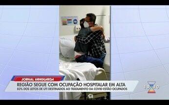 Região segue com ocupação hospitalar em alta e atinge recorde de internações - Confira a reportagem exibida pelo Jornal Vanguarda.