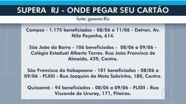 Moradores do Norte Fluminense devem ficar atentos para pegar o cartão Supera RJ - Quem tem direito ao benefício poderá usar o cartão para fazer o saque do auxilio emergencial do governo do estado.