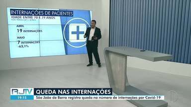 São João da Barra registra queda no número de internações de idosos com Covid-19 - O município concluiu a vacinação dos idosos no mês de maio, alcançando a meta de 100%.
