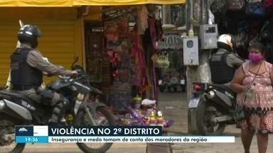 Violência assusta no segundo distrito de Rio Branco - Violência assusta no segundo distrito de Rio Branco