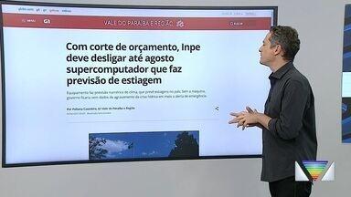 Com corte de orçamento, Inpe deve desligar até agosto supercomputador que faz previsão - Confira a reportagem exibida pelo Link Vanguarda.