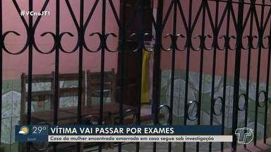 Mulher encontrada amarrada em Santarém vai passar por rxames - Caso está sendo investigado.