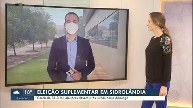 Juiz fala sobre as eleições deste domingo, 13, em Sidrolândia - Juiz fala sobre as eleições deste domingo, 13, em Sidrolândia.