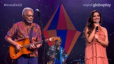 Arraial do Gil - Live   13/06/2021 - Gilberto Gil presenteia o Brasil com uma festa muito especial e recebe a afilhada musical Juliette para uma participação especial