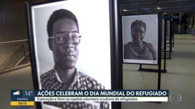 Ações celebram o Dia Mundial do Refugiado - Exposição e feira na capital valorizam a cultura de refugiados