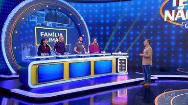 Família Martins e Familia Lima disputam o 'Tem Ou Não Tem' - Famílias precisam opinar sobre o que andam pensando os brasileiros