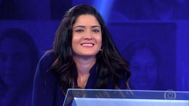Deborah Santos segue disputa no 'Quem Quer Ser Um Milionário' - Participante vai em busca do prêmio de um milhão de reais
