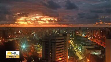 Veja as fotos do amanhecer em Alagoas - Confira as fotos do amanhecer.