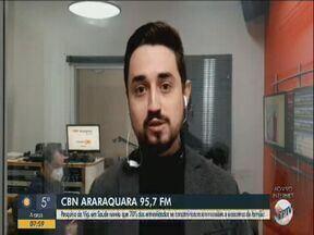 Pesquisa aponta que 70% dos entrevistados contraíram a Covid em reuniões familiares - Milton Filho, da CBN Araraquara, tem mais informações.