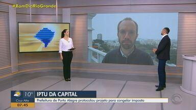 Daniel Scola fala sobre pagamento do IPTU em Porto Alegre - Assista ao vídeo.