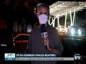 CPI dos Combustíveis: documento aponta indícios de fraude e cartel no setor - A Comissão Parlamentar de Inquérito da Assembleia Legislativa finalizou hoje o relatório que investiga postos de combustíveis aqui em São Luís.