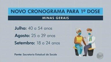 Veja o novo cronograma de vacinação contra Covid-19 em Minas Gerais - Veja o novo cronograma de vacinação contra Covid-19 em Minas Gerais