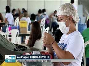 Por falta de vacina, São Luís aplica apenas a 2ª dose neste sábado (10) - Prefeitura de São Luís também antecipou para este sábado, a imunização de quem estava marcada para o domingo (11).