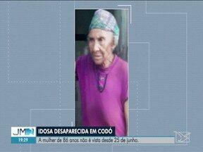 Polícia investiga desaparecimento de idosa em Codó - A mulher de 86 anos não é vista desde 25 de junho.