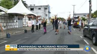 Av. de Jaguaribe será fechada e deve acontecer prática de esportes e caminhadas no local - Deve ficar fecha das cinco às sete da manhã,