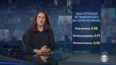 Jornal Nacional, Íntegra 13/07/2021 - As principais notícias do Brasil e do mundo, com apresentação de William Bonner e Renata Vasconcellos.