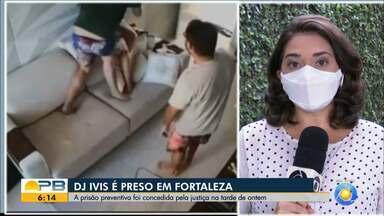 DJ Ivis foi detido na quarta-feira à tarde na região Metropolitana de Fortaleza - O cantor foi detido suspeito de agredira a ex-mulher.
